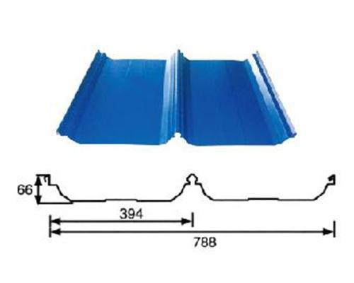 直立锁边屋面板